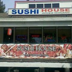 Photo taken at Sushi House by Melissa V. on 4/16/2011
