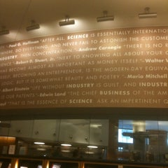 Photo taken at New York Public Library - Science, Industry and Business Library (SIBL) by Charles B. on 8/17/2011