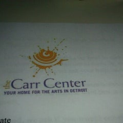 Photo taken at Virgil H Carr Cultural Arts Center by Sabrina N. on 8/15/2012