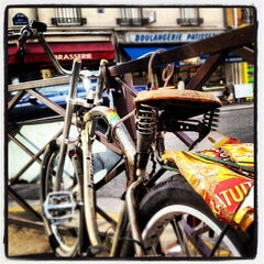Photo taken at Rue de la Croix Nivert by Jeremy B. on 5/1/2012