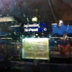 Photo taken at RER Joinville-le-Pont [A] by Toni on 9/3/2011