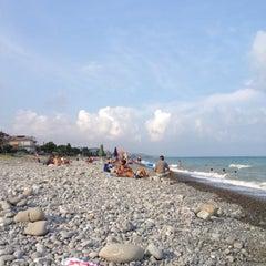 Photo taken at Trebisacce Beach by Antonio D. on 8/14/2012