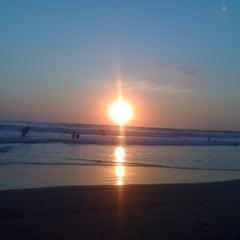 Photo taken at Playa Bonfil by Pepp Q. on 1/1/2012