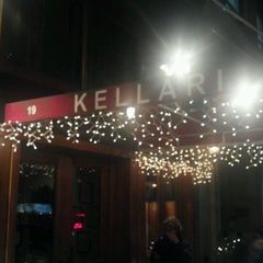 Photo taken at Kellari Taverna NY by Humphrey C. on 12/21/2011