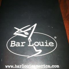 Photo taken at Bar Louie Dearborn Station by Ambriah B. on 2/22/2012