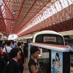 Photo taken at Jurong East MRT Interchange (NS1/EW24) by Karen C. on 5/28/2012
