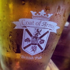 Photo taken at Coat of Arms Pub and Restaurant by Doug R. on 8/23/2012