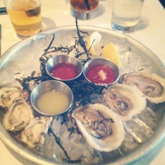 Photo taken at The River Oyster Bar by Jessica C. on 7/13/2012