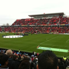 Photo taken at BMO Field by Roshan S. on 4/21/2012
