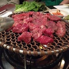 Photo taken at Don's Bogam Korean BBQ & Wine by Robin G. on 4/28/2012