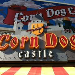 Photo taken at Corn Dog Castle by Brian E. on 9/2/2012