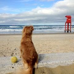 Photo taken at Praia de Imbé by Daniel M. on 6/19/2012