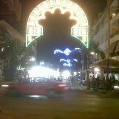Photo taken at Paseo Marítimo de El Morche by Manuel R. on 8/12/2012