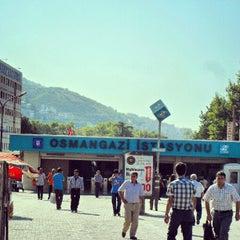 Photo taken at Osmangazi Metro İstasyonu by Fatih Ö. on 8/25/2012