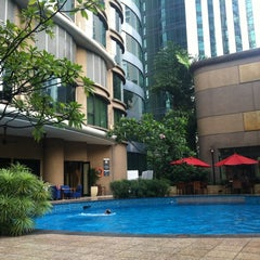 Photo taken at Pool · The Westin Kuala Lumpur 吉隆坡威斯汀酒店 by iPris on 3/11/2012