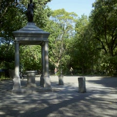 Photo taken at Tompkins Square Park by Mark R. on 7/22/2012