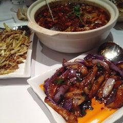 Photo taken at Szechuan Gourmet by Elizabeth S. on 4/14/2012