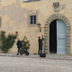 Photo taken at Castello di Nipozzano by Gabor V. on 6/22/2012