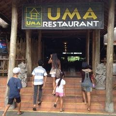 Photo taken at Uma Restaurant by Naadhu M. on 4/1/2012