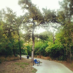 Photo taken at Sam Houston Trails Park by Lukas K. on 6/26/2012