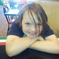 Photo taken at Leonardo's Pizza by Nika B. on 6/15/2012