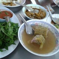 Photo taken at ร้านข้าวแกง.ชาวใต้ by Sayan S. on 3/19/2012
