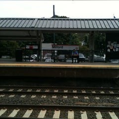 Photo taken at Metro North - Milford Train Station by Houston S. on 8/20/2012