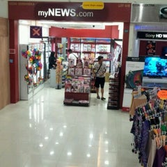 Photo taken at mynews.com@village mall by Alex Lee C. on 2/12/2012