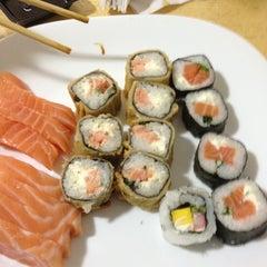 Photo taken at Wok Sushi by Julio Cesar B. on 7/17/2012