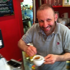 Photo taken at Mario's Cafe by Flavio M. on 4/3/2012