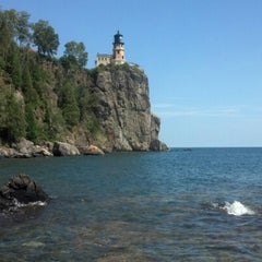 Photo taken at Split Rock Lighthouse by Sarah E. on 7/28/2012