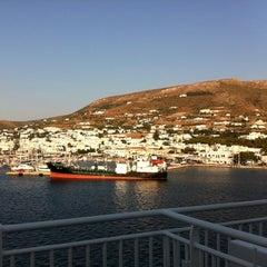 Photo taken at Λιμάνι Πάρου by Mauro Z. on 7/4/2011