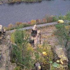Photo taken at Devil's Pulpit by matt m. on 10/16/2011