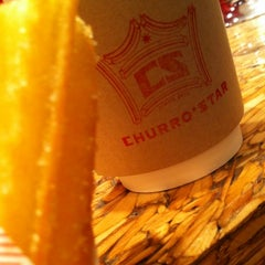 Photo taken at CHURRO☆STAR by Vicente A. on 3/31/2012