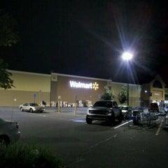 Photo taken at Walmart Supercenter by Jacob Barlow on 8/6/2012