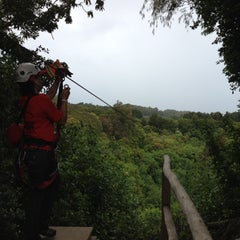 Photo taken at BIEA Zipline by TJ M. on 8/9/2012