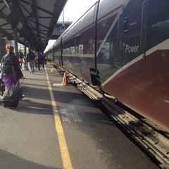 Photo taken at Amtrak Train 508 (Cascades) by Smitha R. on 4/27/2012