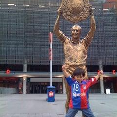 Photo taken at Suncorp Stadium by EGATokyo on 3/6/2012