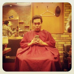 Photo taken at On The Mark Barbershop by Travel Swagger on 6/2/2012