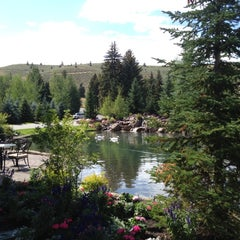 Photo taken at Sun Valley Lodge by Alan F. on 7/23/2012