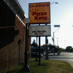 Photo taken at Clara's Pizza King by Gail R. on 5/18/2012