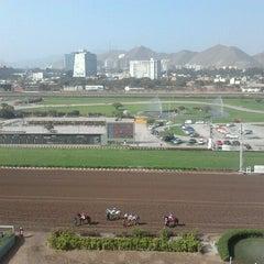 Photo taken at Hipódromo de Monterrico by Thais t. on 6/10/2012