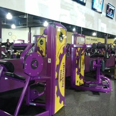 Photo taken at Planet Fitness by Jessica A. on 1/17/2012