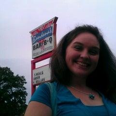 Photo taken at Bandana's Bar-BQ by Kelly B. on 9/17/2011