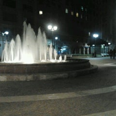 Photo taken at Paseo Bulnes by Glo C. on 8/1/2012