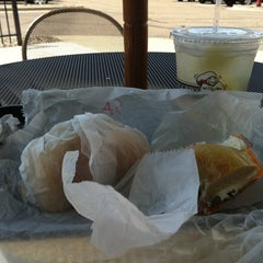 Photo taken at Bruegger's by P T T. on 7/22/2011