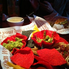 Photo taken at Red Robin Gourmet Burgers by Susan E. on 1/15/2012