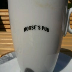 Photo taken at Horse's Pub by lowk3y on 4/26/2012