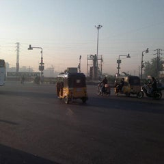 Photo taken at Uppal Ring Road by Mahadevan N. on 1/17/2012