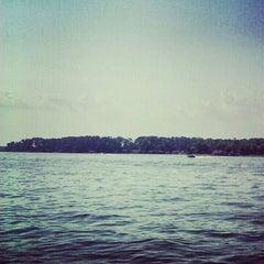 Photo taken at Lake Conroe by Bradley L. on 8/11/2012